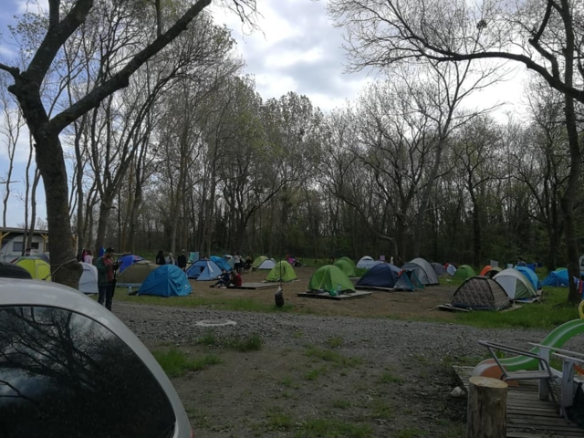 къде с палатка в България